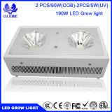 120W LED는 실내 플랜트 Veg와 꽃을%s 가벼운 가득 차있는 스펙트럼을 증가한다