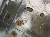 Zink-Beschichtung elektrischer Outle quadratischer Juction Kasten