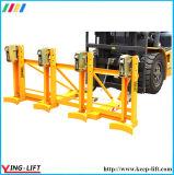 Forklift Drum Grabber for 4 Drums