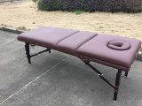 조정가능한 백레스트를 가진 나무로 되는 안마 테이블과 안마 침대