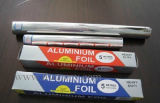 hoja del hogar del aluminio de 10mic X 300m m para impermeable lateral brillante de la cocina