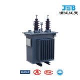 Phase unique poteau monté transformateur de distribution de puissance définie vers le bas