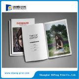 Impression conçue personnalisée de catalogue de magasin de livre