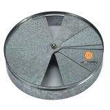 天井の装飾のルーバー容易できれいな卵の木枠の空気グリルの円形の拡散器の部品