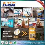 13.56MHz Hf14443ISO um autocolante circular RFID SNF etiqueta impressa