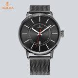 Reloj impermeable de los hombres del cuarzo del deporte de la manera del Wristband del acero inoxidable con la venda 72781 del acoplamiento