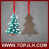 Mdf-hölzerne Sublimation-Weihnachtsbaum-Verzierung