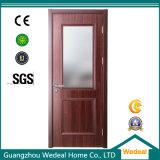 Porta de segurança de madeira maciça / aço inoxidável de metal