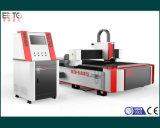 Máquina de estaca poderosa do laser da fibra do CNC 1500W para o metal de folha da estaca