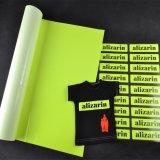 Vinyle jaune fluorescent de film d'impression de transfert thermique de T-shirt