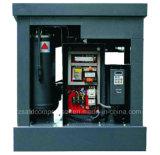 compresor de aire integral del tornillo de la refrigeración por aire 5.5kw/7.5HP con el tanque y el secador del aire