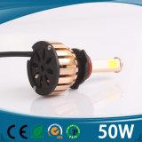 Farol elevado do diodo emissor de luz do carro do lúmen da ESPIGA automotriz do farol 4side do diodo emissor de luz
