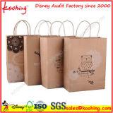preço de fábrica da China / Personalizado presente de Natal Universal Saco de papel Kraft