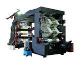 Печатной машины Flexo печатной машины крена пленки 6 цветов изготовление печатного станка печатной машины высокоскоростной бумажной Flexographic