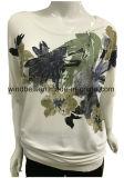 印刷を用いる女性のための快適なTシャツ