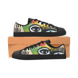 Низкие тапки холстины отрезока конструируют ваши собственные ботинки с печатью сублимации