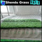 14700tuft / m² Densidade 25mm Garden Sinthetic Lawn