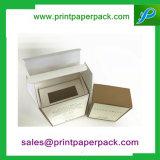 선물 립스틱 향수 정유 화장품 크림을%s 강선을%s 가진 포장지 접히는 상자