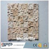 La Plaza de último diseño travertino Natural mosaico de mármol beige amarillo