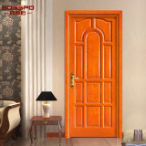 Portelli di legno del teck solido di legno esterno del portello della camera da letto (GSP2-004)