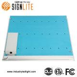 40W 110lm/W Luz do painel de LED, ETL/DLC/FCC