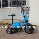 самоката удобоподвижности 500W 3-Wheel Ce имбиря самоката электрического с ограниченными возможностями