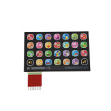 Basissteuerpult-flexible Kreisläuf-Tastaturblock-elektronischer Membranschalter