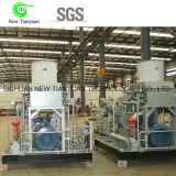 L'industria di gas utilizza il compressore del gas naturale di CNG