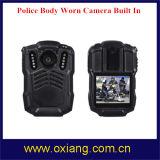 Polizei-Karosserie getragenes Video DVR der WiFi Polizei-Karosserie getragenes Kamera-3G 4G