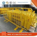 Barrera galvanizada metal del control de muchedumbre con precio de fábrica