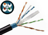 Blaue UTP CAT6 feste Rolle des Kern-305m/Computer-Kabel/Daten-Kabel/Kommunikations-Kabel/Audiokabel/Verbinder