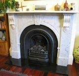 Style Hot Sales UK Arch d'ouvrir cheminée en pierre de marbre
