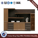 Muebles de madera 4 Puertas Biblioteca Gabinete de almacenamiento Muebles de oficina (HX-6M286)