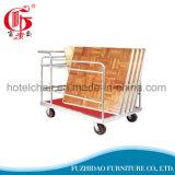 Faltender Aluminiumhandlaufkatze-Rad-Großhandelseber