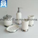 Vaso de escritorio de la porcelana de los accesorios del cuarto de baño