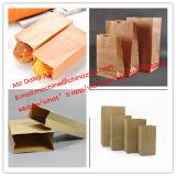 正方形の最下の食糧紙袋機械