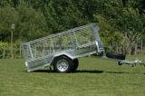 6X4 7X4 7X5 8X4 8X5 10X5 12X5 de Hete Ondergedompelde Gegalvaniseerde Aanhangwagen van de Auto van het Nut met Schuine stand