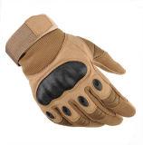 Luvas táticas para homens Hard Knuckle Full Finger Military Gear