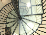 Freies Sicherheits-lamelliertes Glas-Treppenhaus