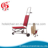 Vente en gros de chariot à main en aluminium pliable à roulettes
