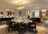 2017新しい木の家具は耐久のレストランの表および椅子を設計する
