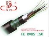 Câble à fibres optiques enquête GYTS Outdoor 12, 24, 36, 48 Core