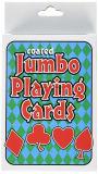 Playingcards enorme con el embalaje de la ampolla