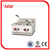 Frigideira para a cozinha comercial, frigideira profunda controlada do gás da temperatura elétrica para a venda