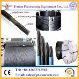 Cable pretensado de alta resistencia 1860MPa de Unbonded de la fábrica de China