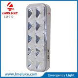 luz Emergency recarregável do diodo emissor de luz 10PCS com de controle remoto
