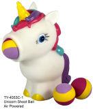 Artículo caliente marioneta del unicornio