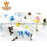 工場価格ニースパターン赤ん坊の胸当ては100%年の綿を卸し売りする