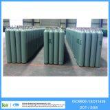 Cylindre de gaz industriel à haute pression de diamètre d'ISO9809 40L 150bar 219mm