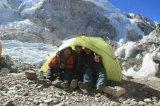 Winter wildes Companing Aufhebung-Zelt